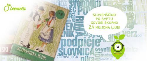 Slovenščina je materni jezik 2,4 milijona govorcev po vsem svetu