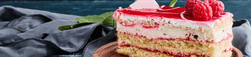 malinina torta, malinova torta, slovenščina