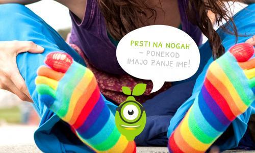 Prsti na nogah se v angleščini imenujejo toes. Kako jim rečemo v slovenščini in kako v španščini?